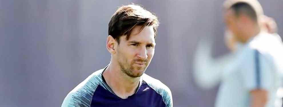 El galáctico chollo: pasa de Messi y del Barça. Y negocia con Florentino Pérez por sólo 100 millones