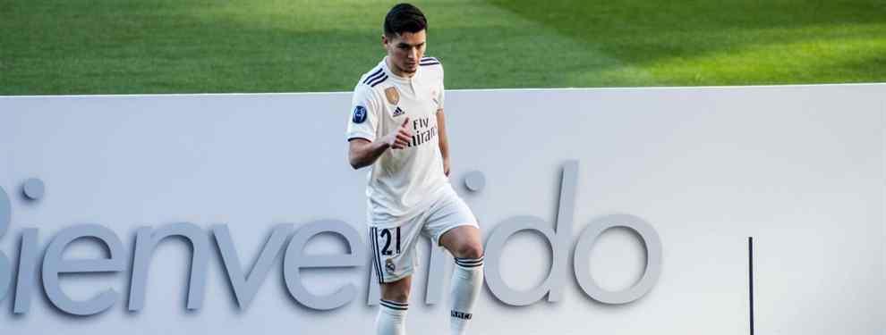 Brahim Díaz no fue del todo honesto.  El flamante fichaje blanco prometió que el club de su vida era el Real Madrid en su presentación en la que afirmó hasta en tres ocasiones que vestir de blanco era su gran sueño.