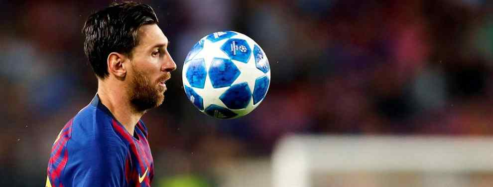 Messi se carga un fichaje galáctico del Barça (y lo manda al Real Madrid de Florentino Pérez)