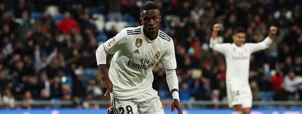 Vinicius JR comienza a asumir galones en el Real Madrid. Solari le ha dado la oportunidad tras la lesión de Gareth Bale y el brasileño ha cumplido con nota.