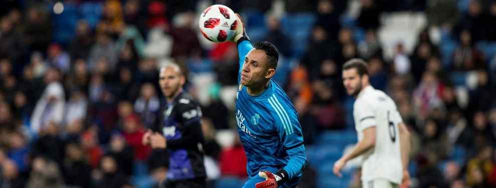 Keylor Navas tiene una oferta sorpresa que mete el miedo a Florentino Pérez (y al Real Madrid)