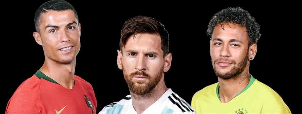 Y no es Neymar: el galáctico de Florentino Pérez para acabar con Messi (y Cristiano Ronaldo)