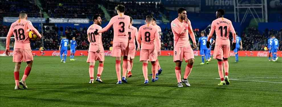 La bomba que deja a Messi, Luis Suárez y Pique con cara de susto (y acaba de pasar)