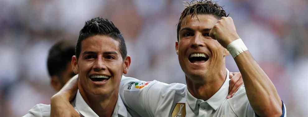 Es el nuevo James Rodríguez: el fichaje que pide Cristiano Ronaldo
