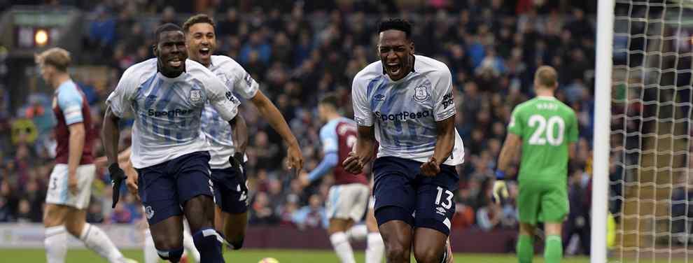 Historias. El fútbol está repleto de ellas y Yerry Mina tiene una que calla.  El actual crack del Everton salió por la puerta de atrás del Barça después de que Ernesto Valverde lo pidiera en enero para dejarlo en el banquillo