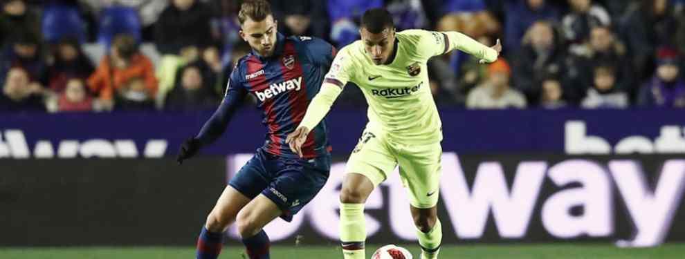 Murillo alucina: escándalo brutal con Messi, Piqué y Luis Suárez en el Levante-Barça
