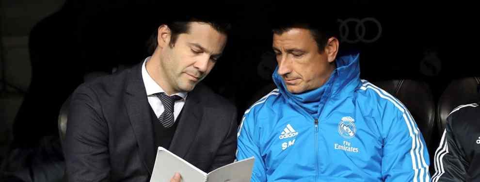 Bombazo: Florentino Pérez elige al sustituto de Solari (y entrenará al Real Madrid hasta junio)