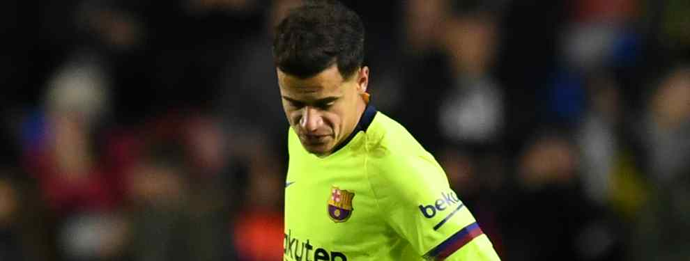 Philippe Coutinho vive el que es, con casi total seguridad, su momento más delicado como jugador profesional. El brasileño no cuenta para Valverde y puede salir del Barça en verano.