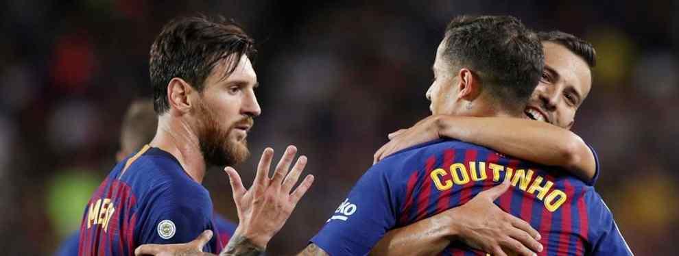 El Barça quiere colocar a Coutinho en un cambio de cromos galáctico (y Messi alucina)
