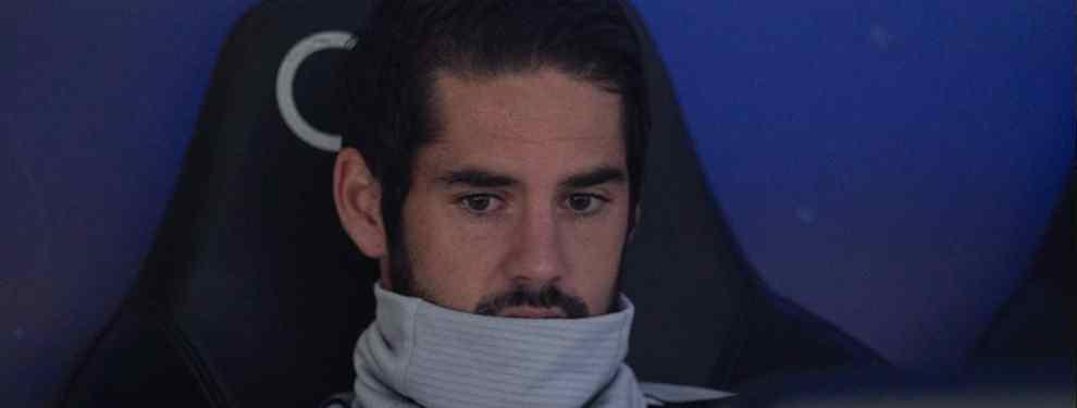 Isco Alarcón parecía que tenía todo a favor para volver a ser titular con el Real Madrid. La plaga de lesiones dejaba a Santiago Solari con pocas opciones para el centro del campo del conjunto madridista.