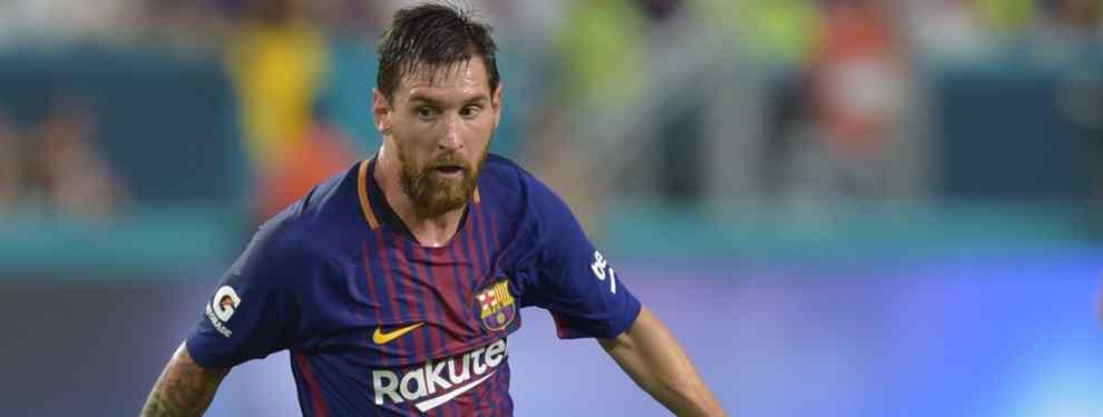 Messi veta la llegada de un fichaje colombiano al Barça