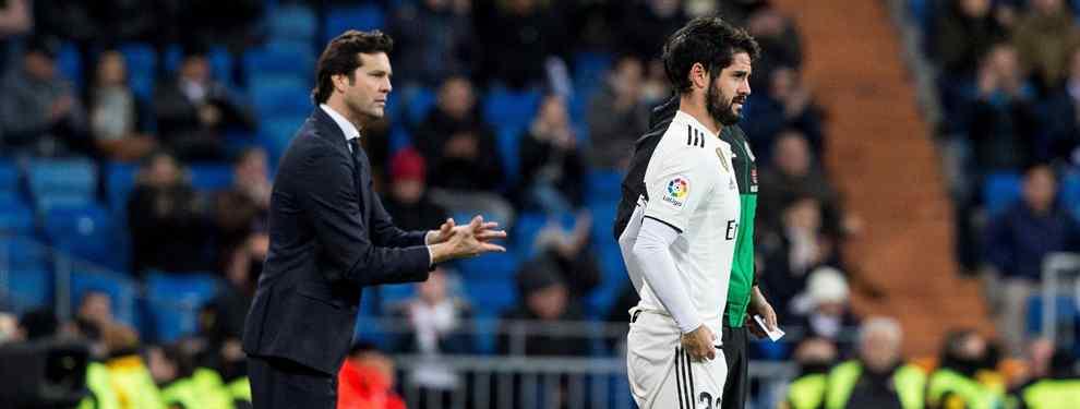Isco tiene un plan (y es muy bestia). Y Florentino Pérez (y el Real Madrid) un problema enorme