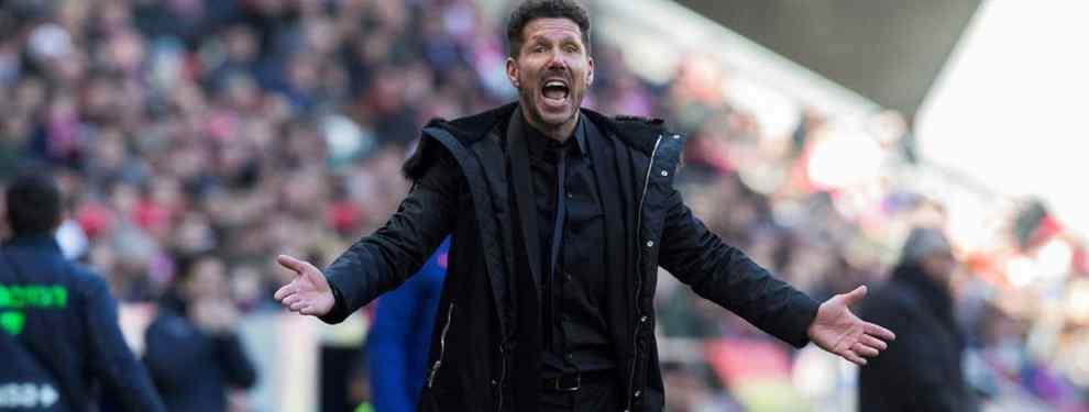 Simeone huele la sangre. El 'Cholo' está al tanto del malestar de Mauro Icardi en el Inter y de su esposa y agente, Wanda Nara.  El clan argentino se siente menospreciado por los dirigentes interistas