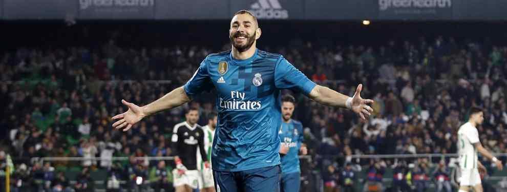 Portazo. El Real Madrid llevas semanas, meses, buscando gol en el mercado con vistas a enero con favoritos y descartes.  El último en borrarse de la lista ha sido un jugador al que el Barça de Messi lleva siguiendo