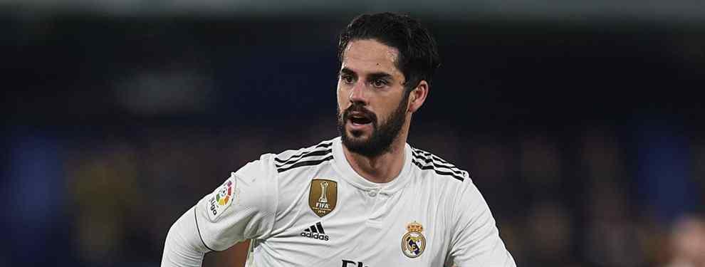 La llamada a Isco (y el trueque sorpresa) que pone al Real Madrid patas arriba