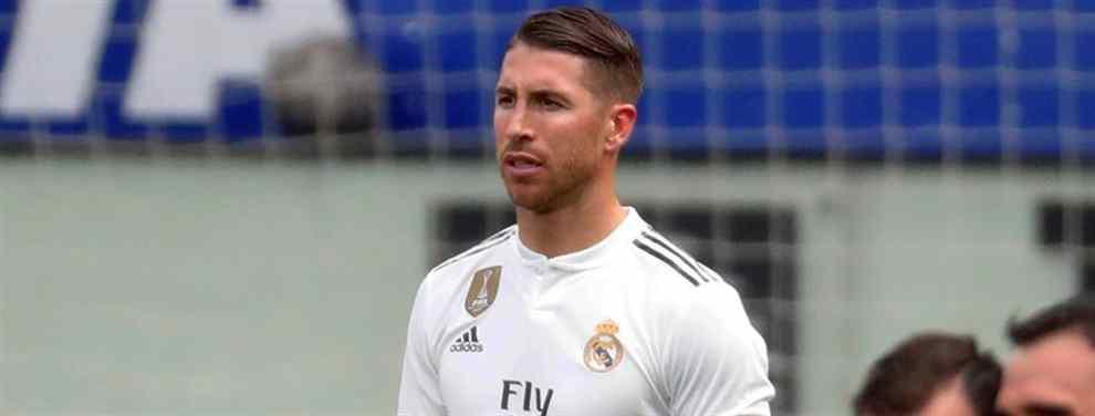 Ramos ya lo sabe: el crack del Real Madrid que dice adiós (y no se despide de Florentino ni Solari)