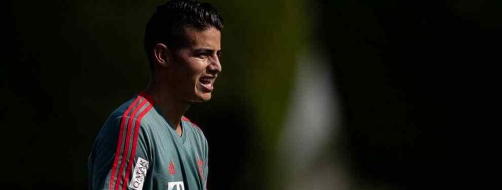 Oferta bomba por James Rodríguez. Unai Emery quiere al colombiano a toda costa y lo quiere ya, pero el Arsenal no dispone del dinero suficiente para poder ficharlo.