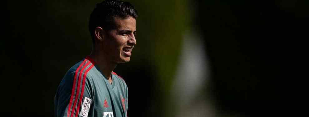 James Rodríguez se va cedido seis meses: oferta al Bayern de Múnich