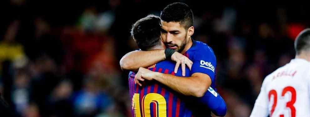 Messi no lo quiere ni ver (y Suárez y Piqué tampoco): fichaje en bandeja a Florentino y al Madrid