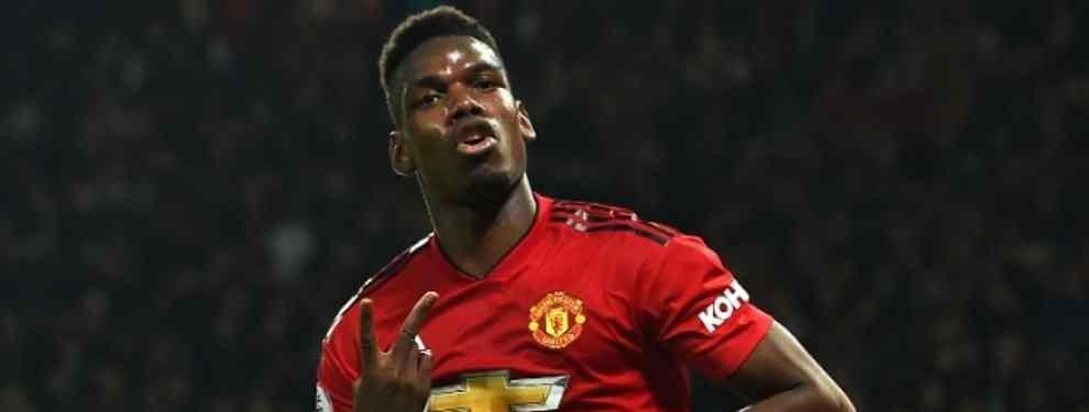 Paul Pogba quiere aprovechar el tirón.  El crack del Manchester United ha pasado de ser un jugador en venta con Mourinho a intransferible para Solskjaer. Una idea que no enamora al galo.