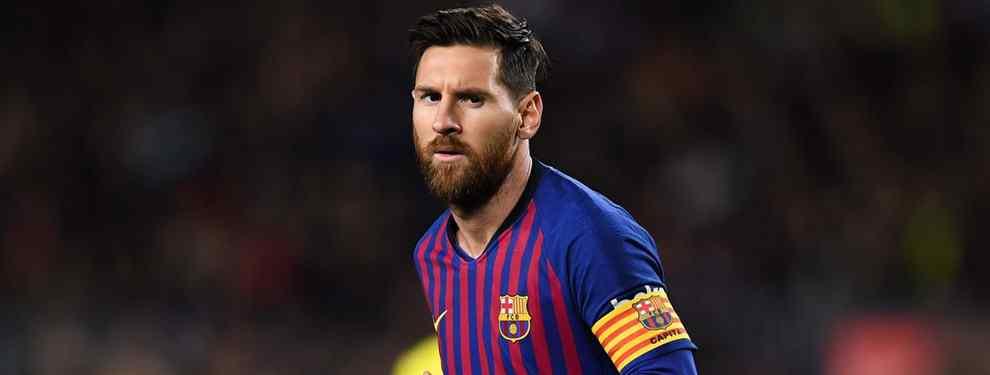 Escandaloso: la última opción del Barça para el '9' que Messi descarta (y es de vergüenza)