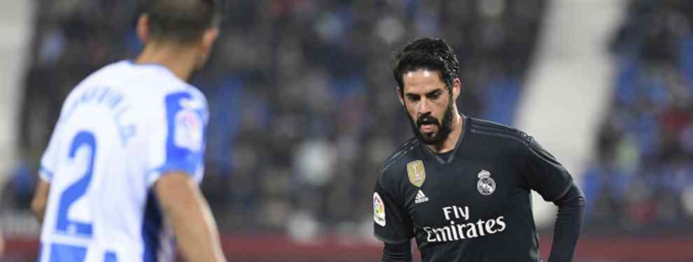 Isco la vuelve a liar: lo que pasó en el Real Madrid (y que seguro que no has visto)