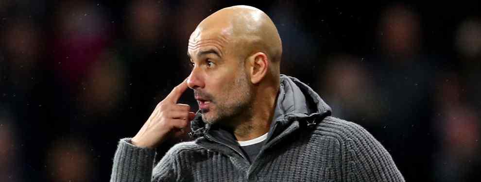 Pep Guardiola busca un nuevo líder para el Manchester City.  El técnico echa de menos una figura que lidera, como Messi en el Barça o Cristiano Ronaldo en la Juventus, al equipo.
