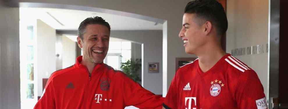 Kovac saca la basura de James Rodríguez (y arde el Bayern de Múnich)