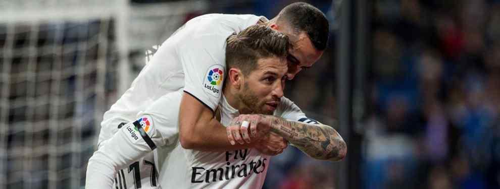 Florentino Pérez pone 70 millones para quitarle el 'nuevo Sergio Ramos' al Barça