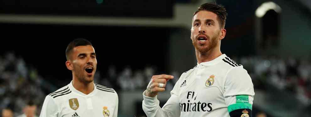 El casting para cargarse a Sergio Ramos en el Real Madrid tiene ganador inesperado