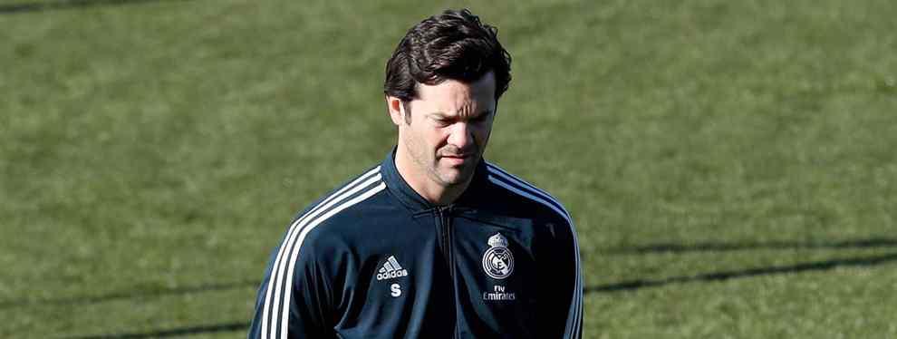 Plantón en el Real Madrid. Javi Sánchez, 'protegido' por Solari, ya negocia con varios clubes para dejar tirado al club blanco, al argentino y a Florentino Pérez.