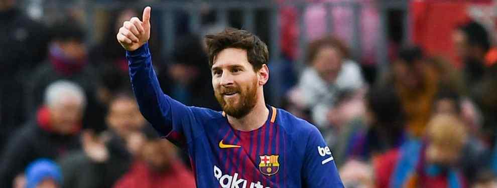 El Barça ya tiene preparado (y apalabrado) al sustituto de Leo Messi (y llegará en 2021)