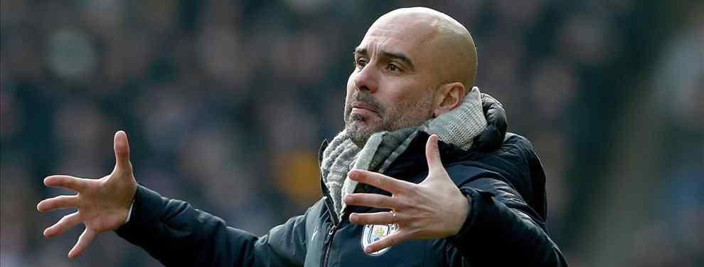 Florentino Pérez pesca en el Manchester City: la pieza clave de Guardiola que apunta al Real Madrid