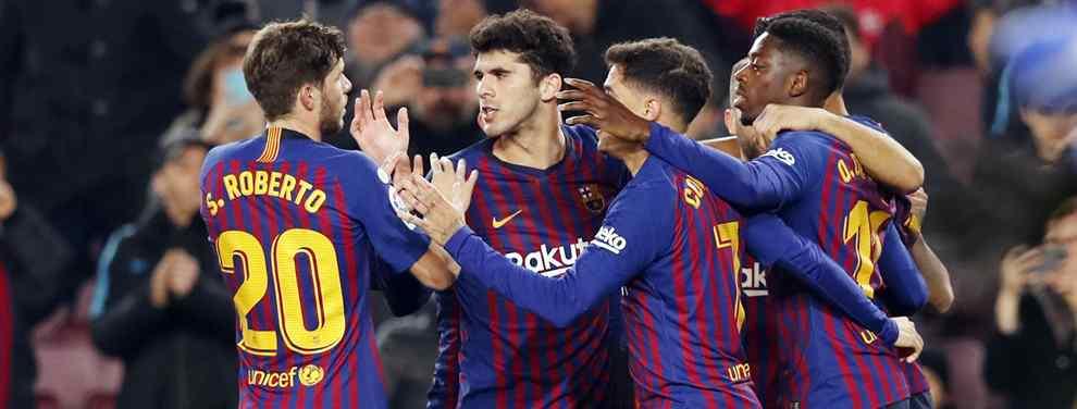 El Chelsea pone 120 millones para llevarse a un titular de Messi (y no es Dembélé)