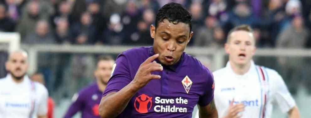 Brillante debut de Luis Muriel en la Fiorentina. El colombiano, que no pudo brillar el año y medio que estuvo en el Sevilla, anotó dos goles de bella factura en el partido ante la Sampdoria.