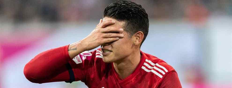 James Rodríguez deshoja la margarita. El crack del Bayern de Múnich tiene decidido abandonar la Bundesliga y sondea las ofertas que le llegan de los diferentes clubes de primer nivel.