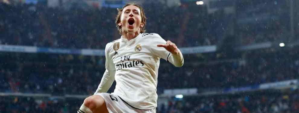 Ya hay relevo para Modric: Florentino elige galáctico para el Madrid (y James está en la operación)