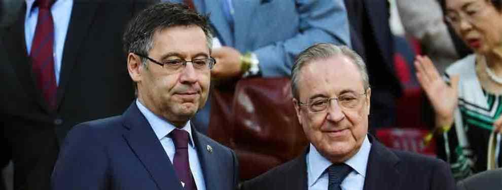 Florentino Pérez pretende ser más rápido que el Barça. El presidente del Real Madrid quiere llevarse a Emerson, lateral del Atlético Mineiro, al que se daba por cerrado en el Camp Nou.