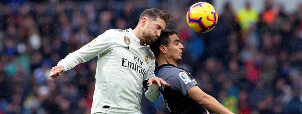 Sergio Ramos ya lo sabe: el galáctico tapado (y bomba) para la defensa del Real Madrid