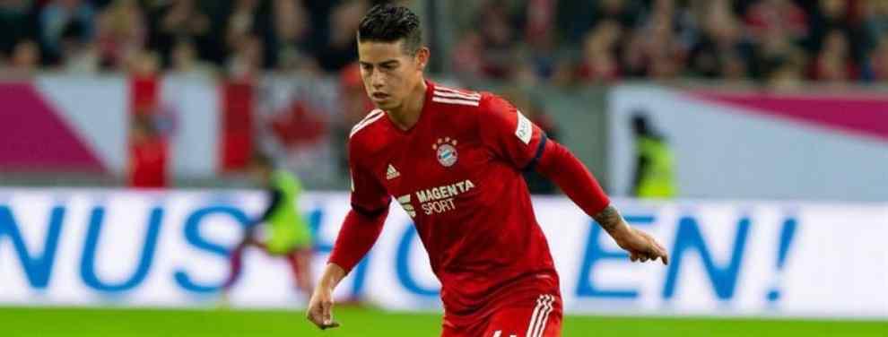 Escándalo James Rodríguez: el último lío que lo saca del Bayern de Múnich (y en enero)