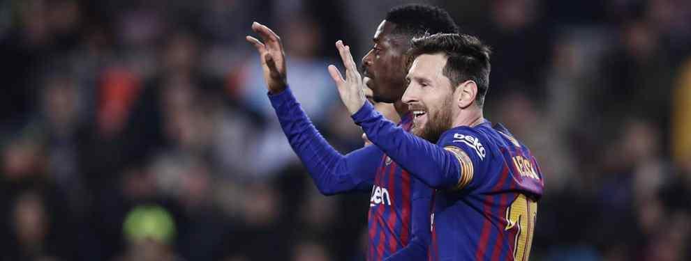 El fichaje tapado para Messi en el Barça que desata las risas en el Real Madrid de Sergio Ramos
