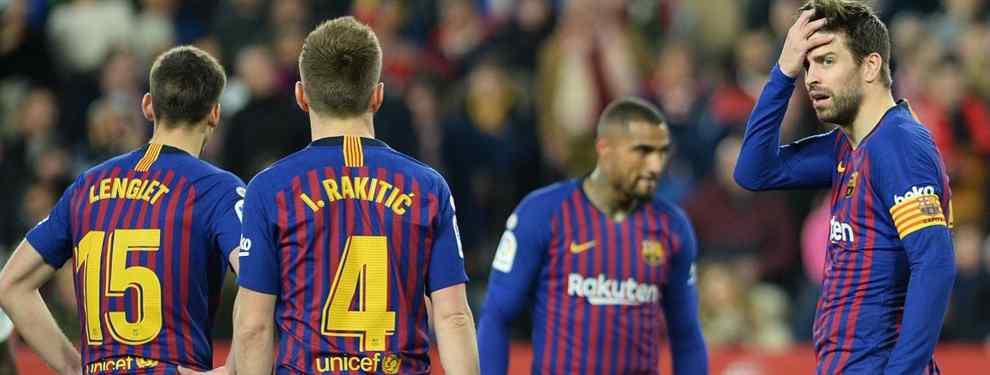 Son muy malos: los dos jugadores del Barça señalados por Messi, Suárez y cía (y están en la calle)