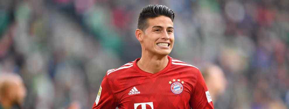James Rodríguez sigue dando de qué hablar. El as del Bayern de Múnich es noticia día si y día también, mientras se especula que sucederá con su futuro. El último en opinar, su padre.