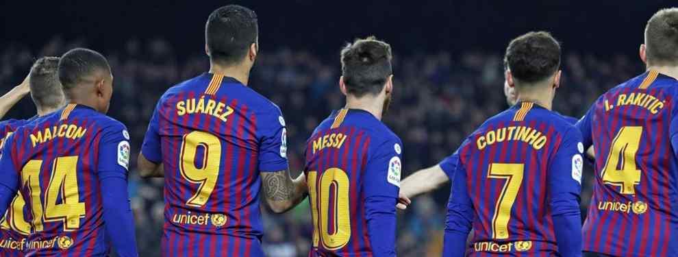 Suena a broma, pero no lo es. El Barcelona sigue buscando puntales para el tridente de ataque azulgrana después de cerrar el 'parche' en el que se ha convertido Boateng.