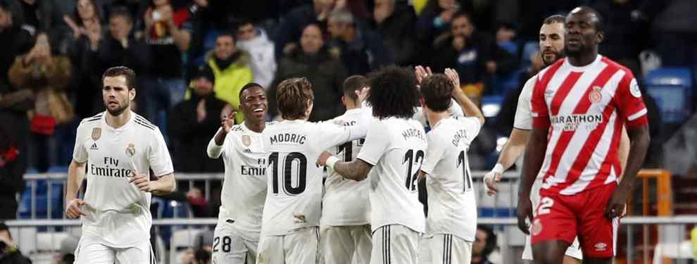 Florentino Pérez tiene un plan bomba. El presidente del Real Madrid prepara una revolución en verano, con fugas sonadas y fichajes galácticos. Todo para destrozar al Barça y a Messi.