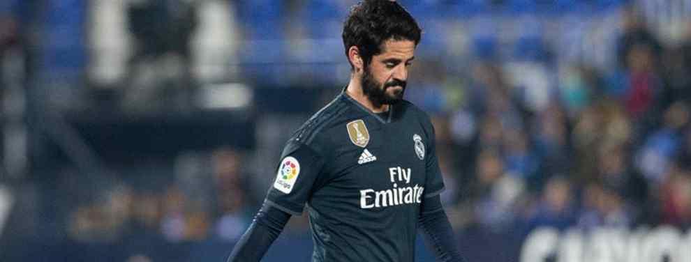 El caso 'Isco' puede tener solución. El malagueño, transferible, no recibe ofertas que se acerquen a lo que Florentino Pérez exige para dejarle salir del Real Madrid.