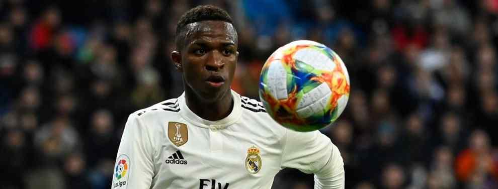 Vinicius alucina: el cambio de cromos que lleva a un galáctico al Real Madrid de Florentino Pérez