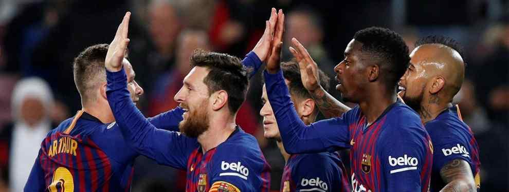 En el Barcelona se está gestando un plan por parte de la directiva, para salir de algunos futbolistas que no están contando para Ernesto Valverde, e incorporar a ciertos refuerzos que puedan ser importantes para el tramo restante