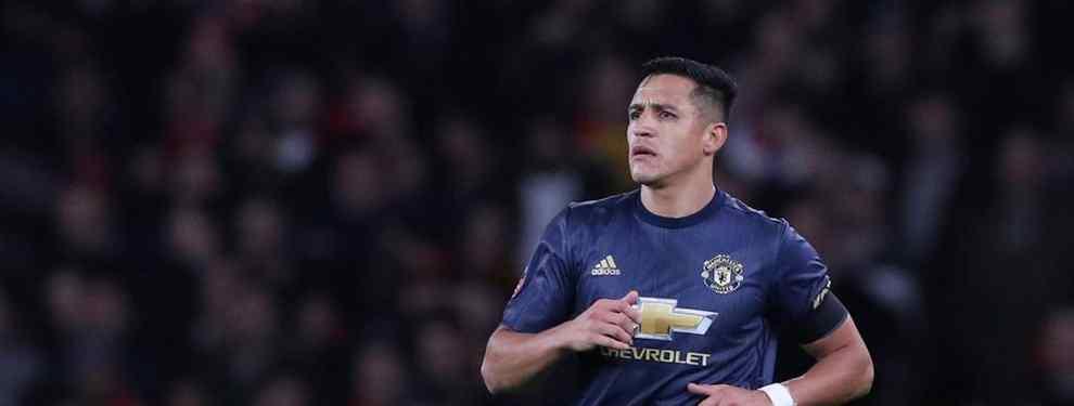 Las negociaciones con Sánchez no llegaron a buen término porque el delantero pedía cobrar la misma cantidad que en el United, lo que se equipara al salario de Griezmann.