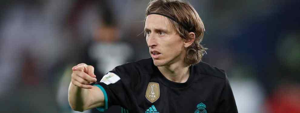 Luka Modric quiere entrar en un traspaso (y no es para irse al Inter de Milán)